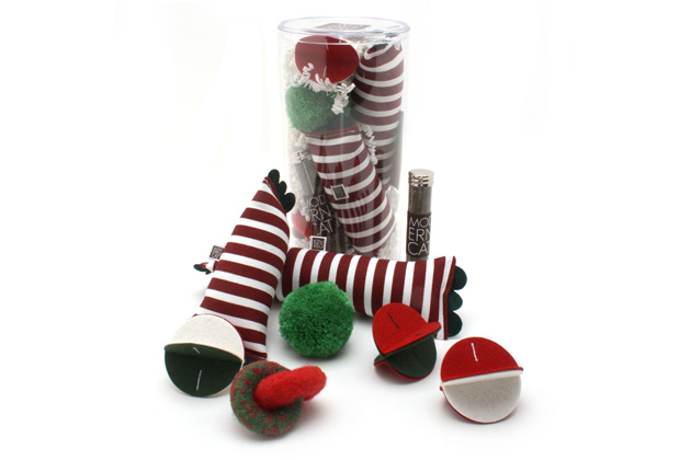 Holiday Cat Toy Box from Moderncat Studio