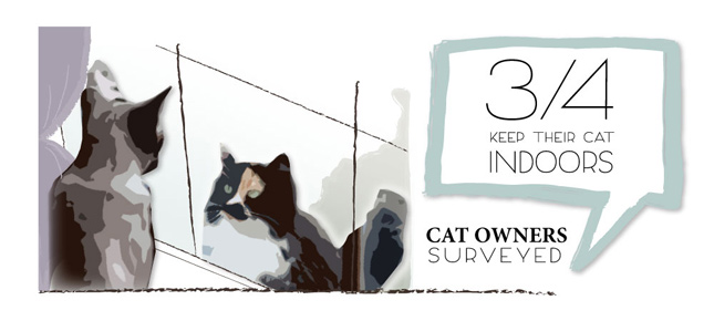 Survey Results: Cat owners who keep their cats indoors