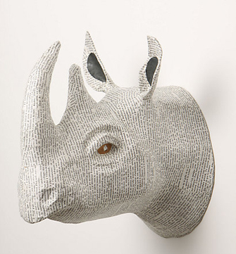 Anthropologie 39 S Papier M Ch Animal Heads