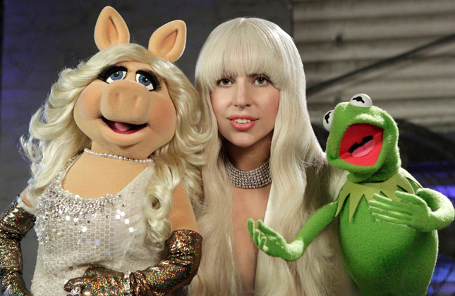 A still from Lady Gaga & the Muppets' Holiday Spectacular
