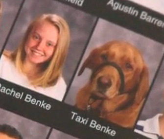 Service Dog Gets Yearbook Picture