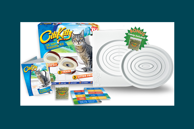 Kitty Toilet Training Kit