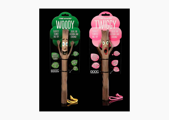 DOOG The Sticks Twiggy and Woody