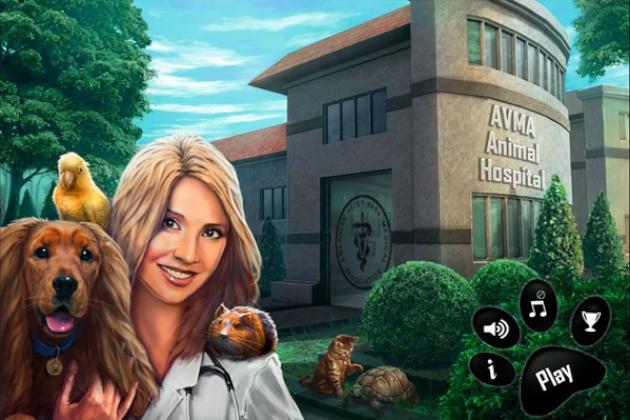 AVMA's animal hospital video game