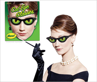 Cat Eye Glasses from Archie McPhee
