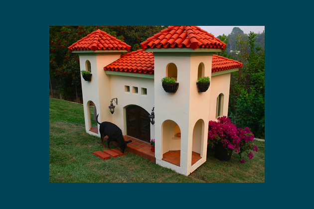 Rockstar Puppy Mexican Hacienda Dog House