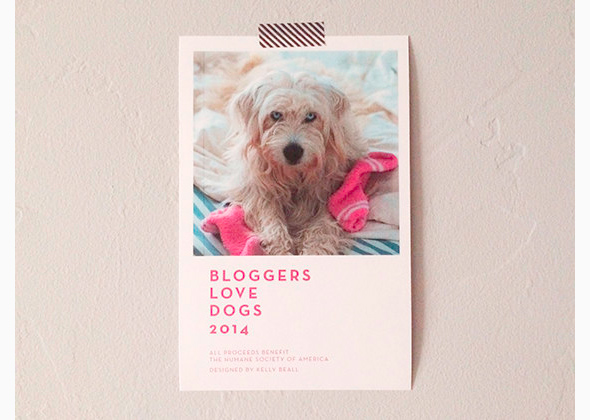 Bloggers love dogs calendar 2014