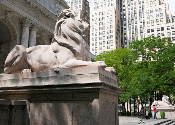 New York City Library Lions