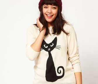 ASOS Cat Sweater