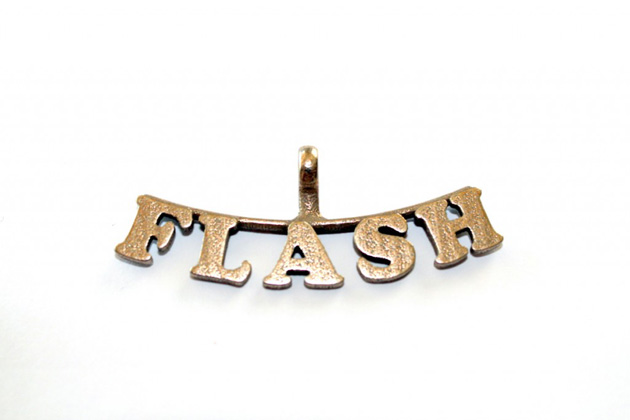 Flash Gordon 3-D Bone ID Tag