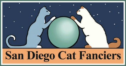 image of the San Diego Cat Fanciers' Food and Water Bowl XX