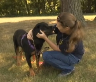 Jennifer Koczan was reunited with her dog, Sasha, after five years.