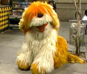 Barkley from Sesame Street