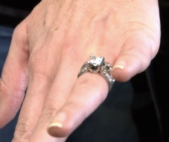 Stephanie Lamb's wedding rings were recovered from her Lab puppy's stomach.