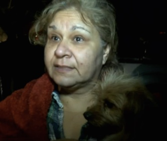 "Fire officials called Foxy the dog a ""hero"" for alerting her sleeping family to a fire in their home."
