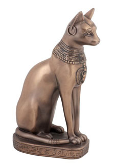 Egyptian Bastet Figurine