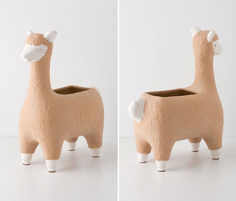 alpaca planter