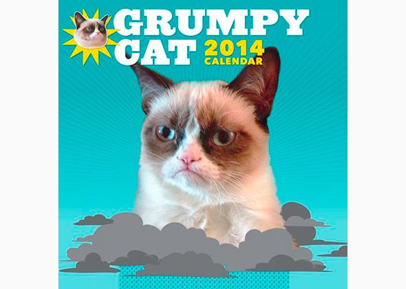 Grumpy Cat Calendar 2014