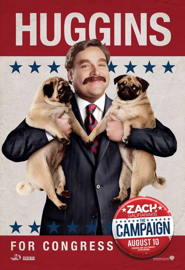 Zach Galifianakis Campaign Poster