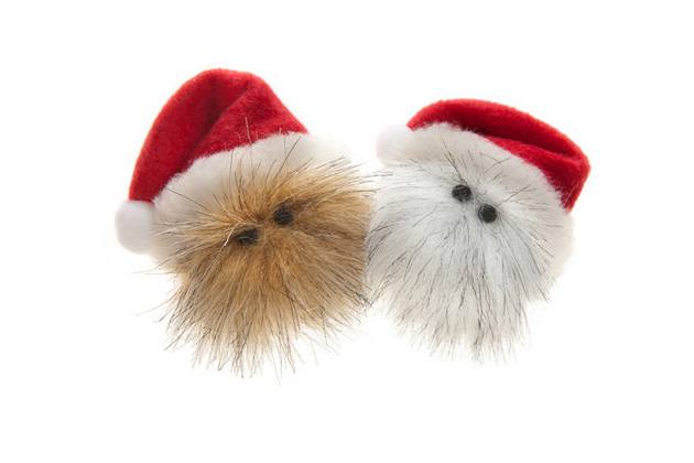 Ho Ho Hairball Christmas Cat Toys from West Paw Design