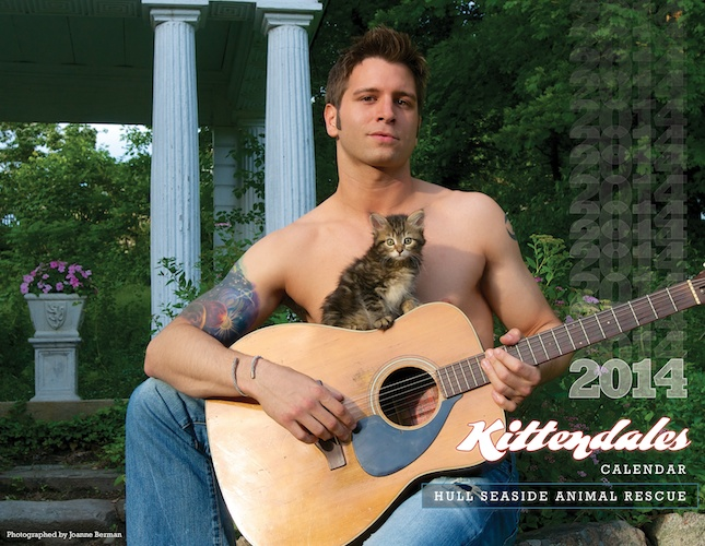 The cover of the Kittendales 2014 calendar