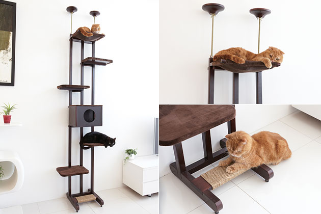 Ware Sky Climber 6-Wide Cat Tree