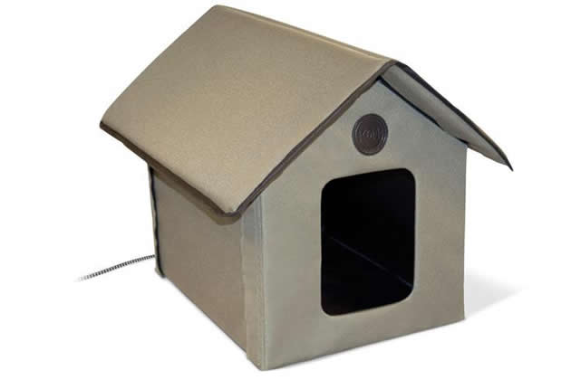 Outdoor Heated Kitty House, K&H Manufacturing