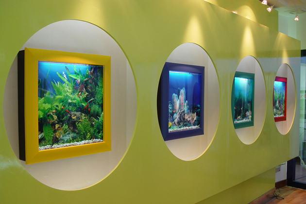 Living Wall Art Panoramic Wall Aquariums