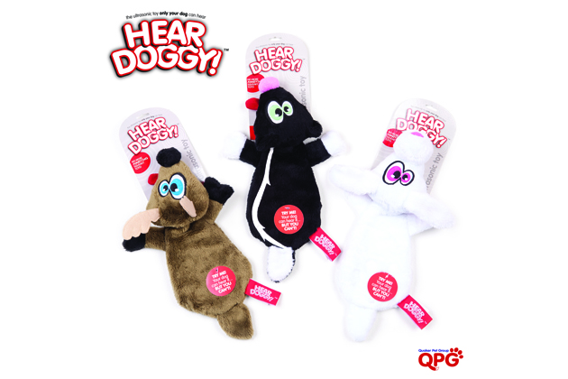 Hear Doggy Ultrasonic Plush Toys