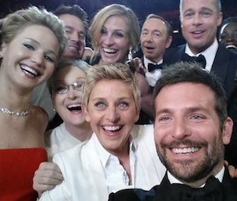 The star-studded selfie set up by Oscar host Ellen DeGeneres earns millions for charity.