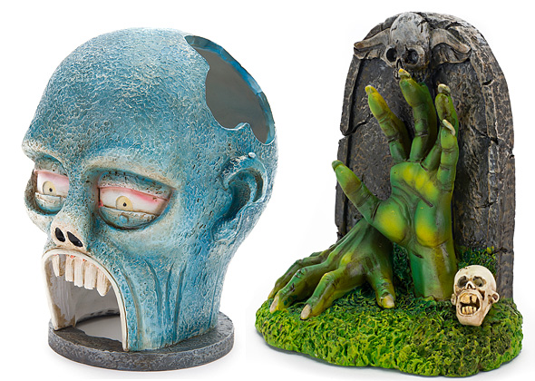 Zombie Fish Tank Ornaments