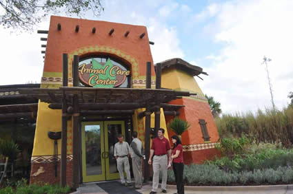 Busch Gardens Animal Care Center