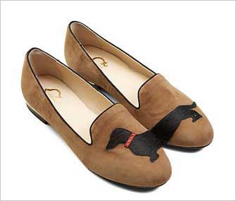 C. Wonder Dachshund Loafers