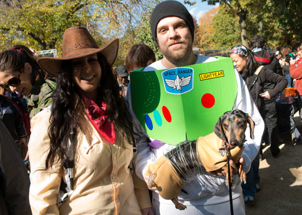Dog Halloween Parade Toy Story