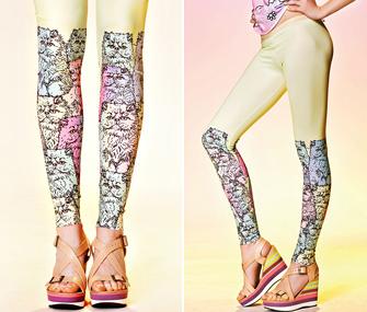 QooQoo Multicat Leggings