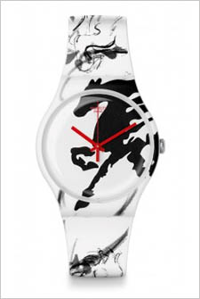 Year of the Horse Swatch Watch