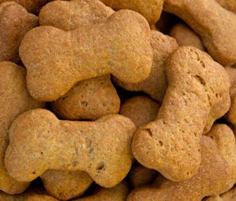 Homemade dog snacks