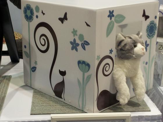 Refined Feline Catemporary Cat Cover
