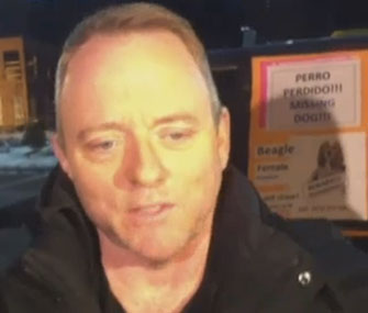 Author Dennis Lehane is still searching for his dog.