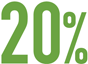 20 percent