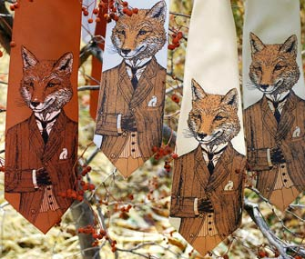 Dapper fox tie