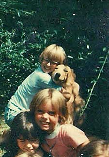 when my childhood dog was shot i knew i wanted to be e