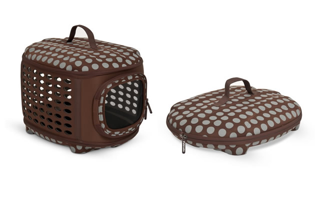 Luxury Pet Retreat Curvations Carrier, Petmate
