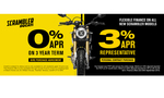 0% HP & 3% PCP on all new Scrambler models