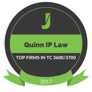 Quinn IP Law Juristat Top 20