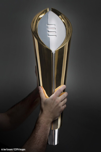 College Football Playoff Unveils National Championship Trophy