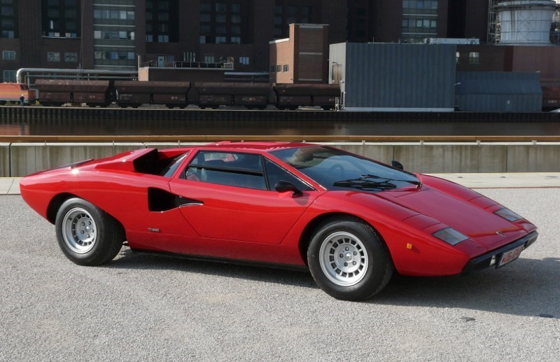1974 Lamborghini Countach Revdata