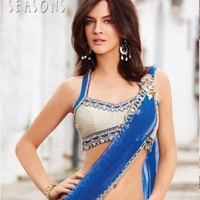 Short-blose-indian-saree-2011-12-400x435
