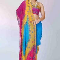 Blue_252c_yellow_and_red_-_georgette_saree_-_indian_saree_2010