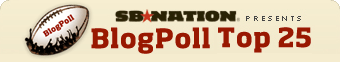 SB Nation BlogPoll Top 25 College Football Rankings